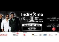 BOYZ II MEN INDONESIAN TOUR | TIKETAPASAJA.COM