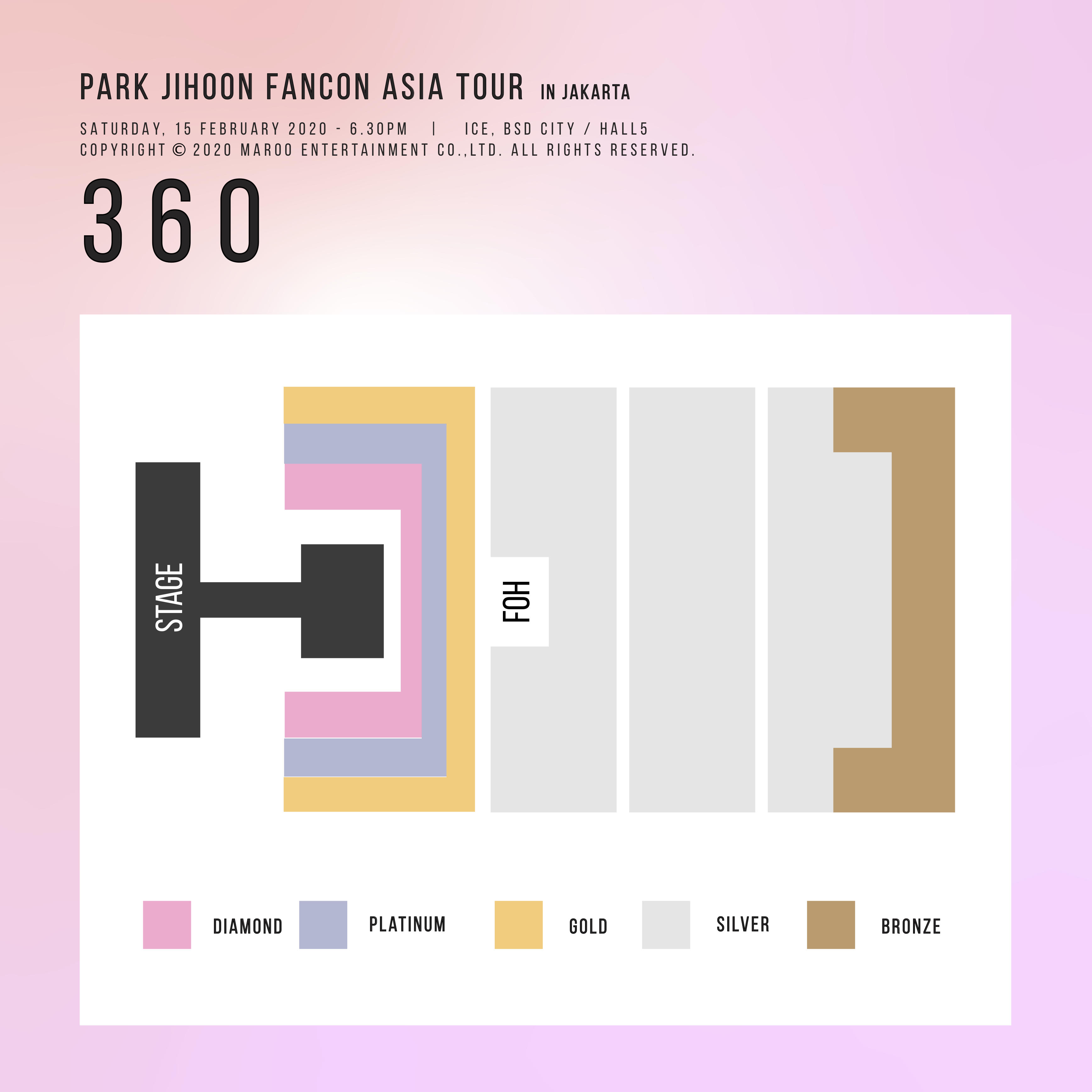 PARK JIHOON FANCON ASIA TOUR 2020