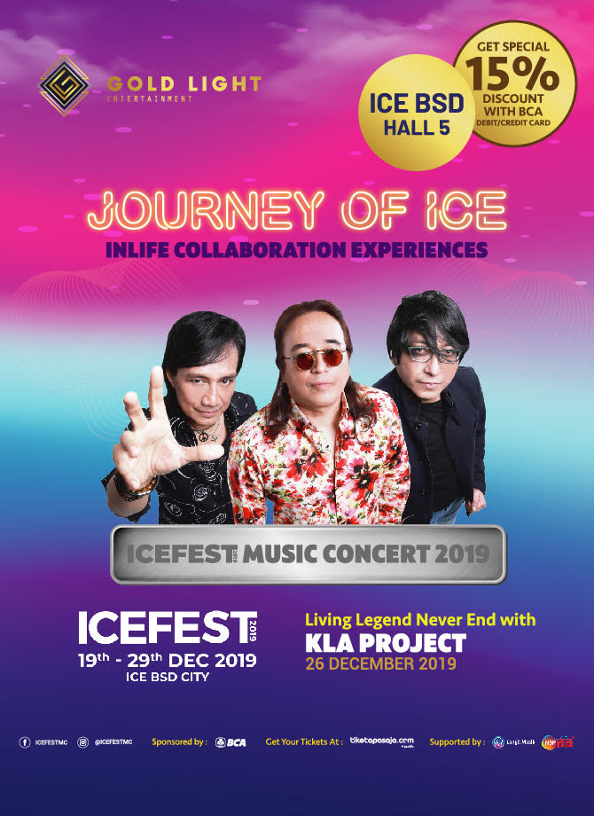 JOURNEY OF ICE <br> Living Legend Never End with KLA Project