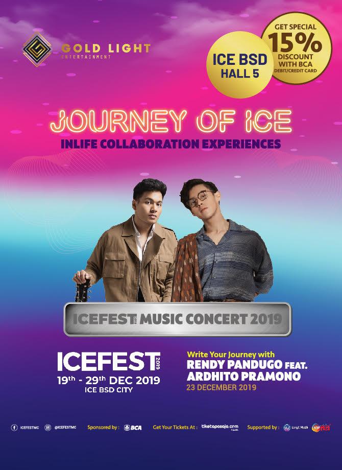 JOURNEY OF ICE <br> Write Your Journey with Rendy Pandugo feat. Ardhito Pramono