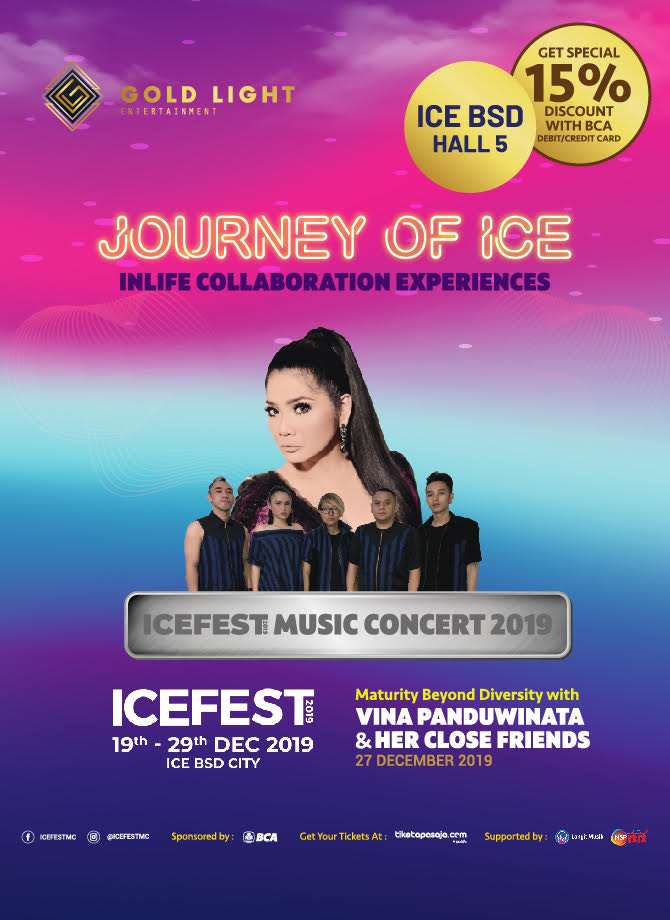 JOURNEY OF ICE <br> Maturity Beyond Diversity with Vina Panduwinata & Her Close Friends