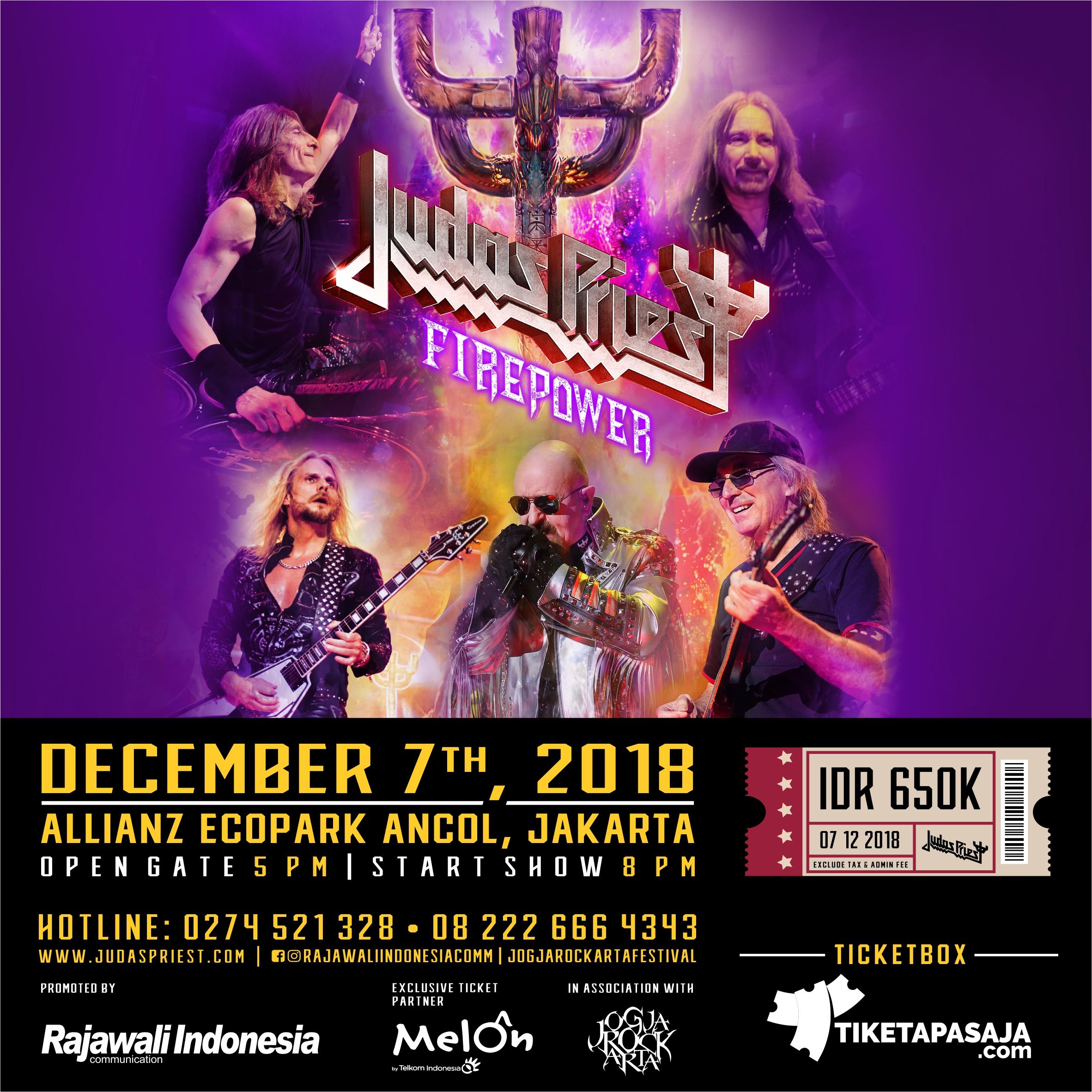 Judas Priest Live in Concert Ecopark Ancol Jakarta