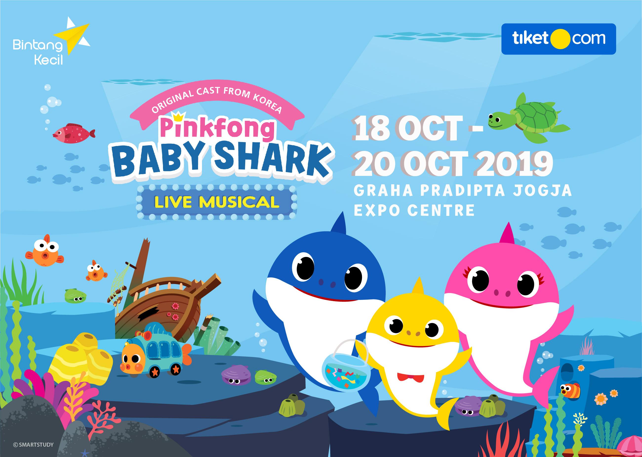 PinkFong Baby Shark Musical Live - Yogyakarta Show 6