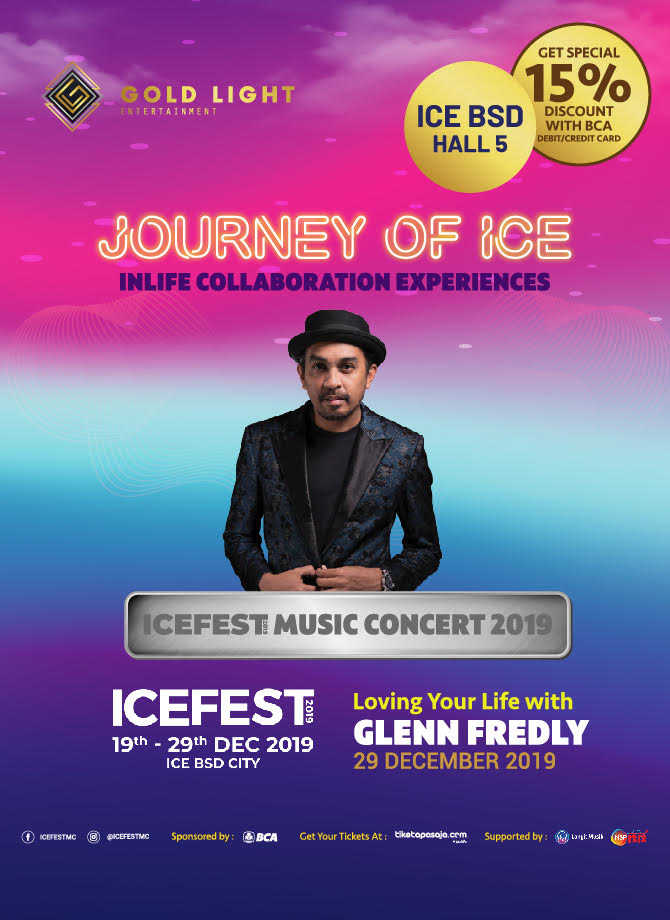 JOURNEY OF ICE <br> Loving Your Life with Glenn Fredly